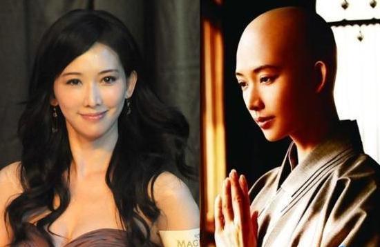 在新片《天机 富春山居图》中以林志玲的敬业让她也有了一次光头造图片